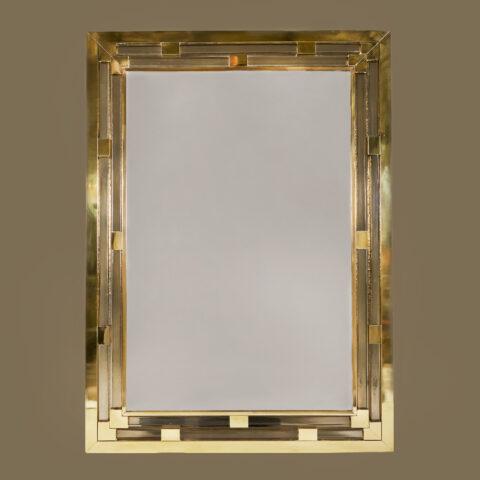 Gold Glass Mirror 0155 V1