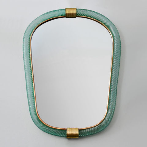Green Barovier Wall Mirror 01