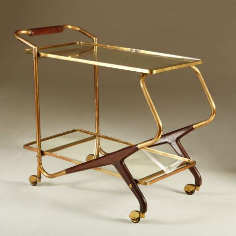 Italian Brass And Mahogany Drinks Trolley 20210225 Valerie Wade 3 139 V1