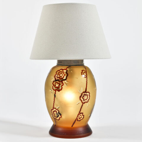Italian Glass Lamp 01