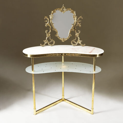 Italian Marble Topped Dressing Table 0068 V1