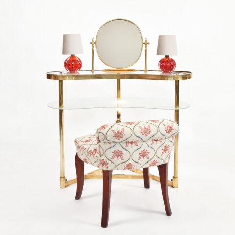 Italian Polka Dot Dressing Table