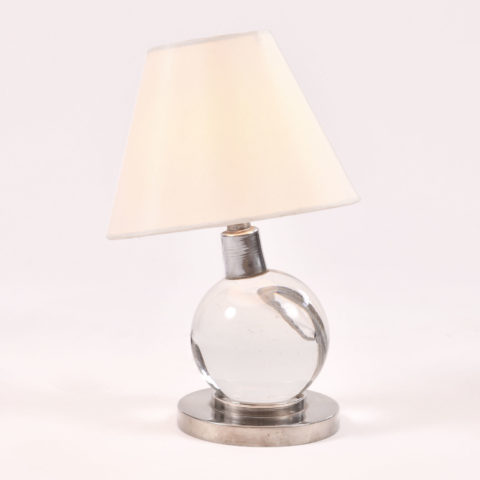 Jacques Adnet Ball Lamp 01