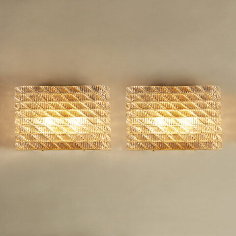 Large Seguso Wall Lights 0168 V1