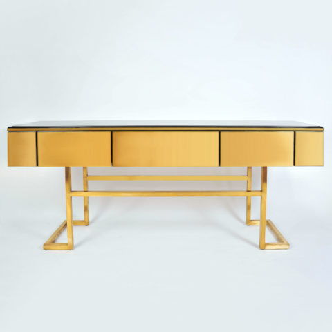 Long Brass Sideboard 01