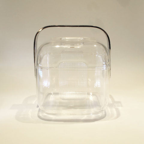 Lucite Cube Ice Bucket 01
