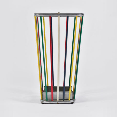 Multi Coloured Umbrella Stand 01