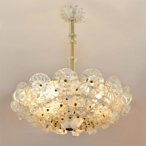 Murano Glass Chandelier By Barovier 01