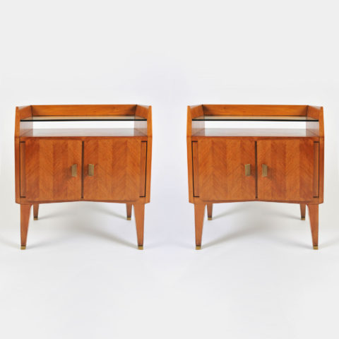 Pair Italian 50S Bedsides 01