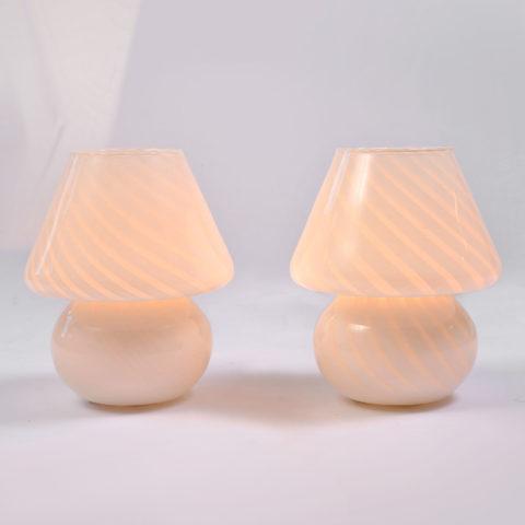 Pair Mushroom Lamps 01