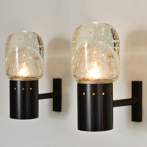 Pair Seguso Wall Lights 01