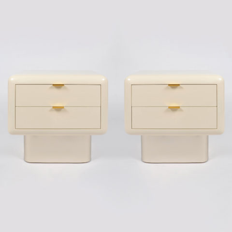 Pair Steve Chase Bedsides 01