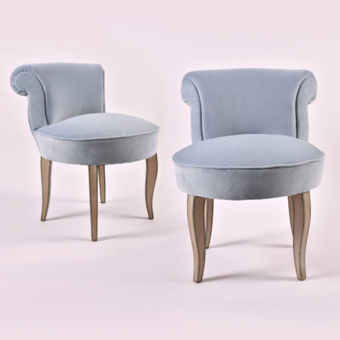 Pair Pale Blue Seats 01