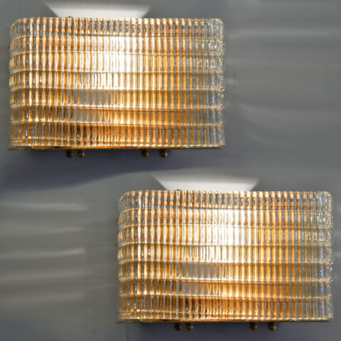 Pair1950S Seguso Wall Lights 01