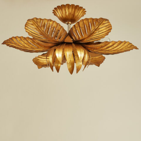 Palm Leaf Pendant Light 0115 V1