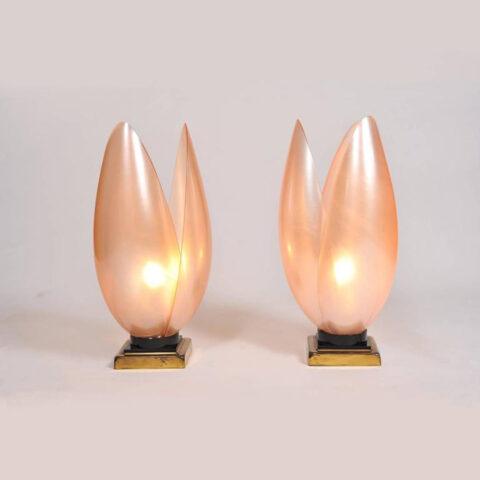 Pink Lotus Lamps 04 L