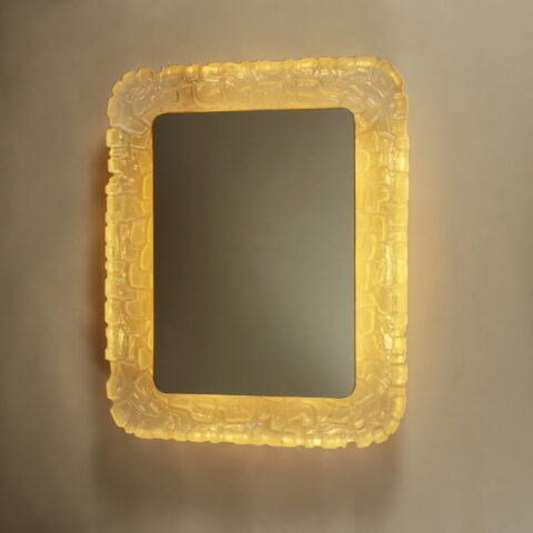 Resin Back Lit Mirror 254 V1