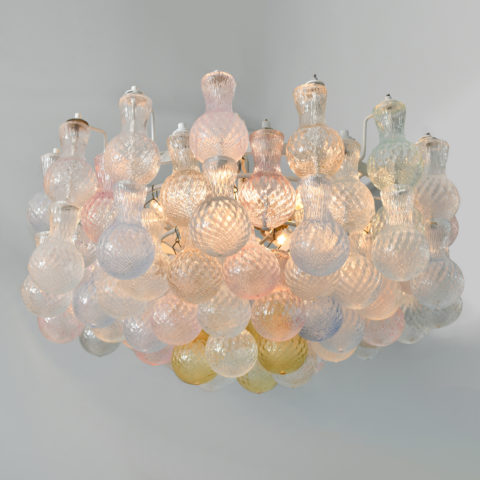 Seguso Bubble Chandelier 01Close Up