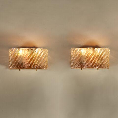 Seguso Diagonal Glass Wall Lights 20210427 Valerie Wade 4 0282 V2