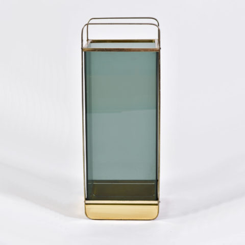 Smoked Glass Umbrella Stand 01
