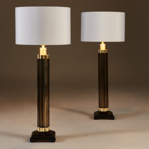 Smokey Crystal Column Lamps 20210225 Valerie Wade 2 187 V1
