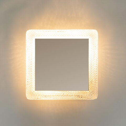 Square Backlit Mirror 0401