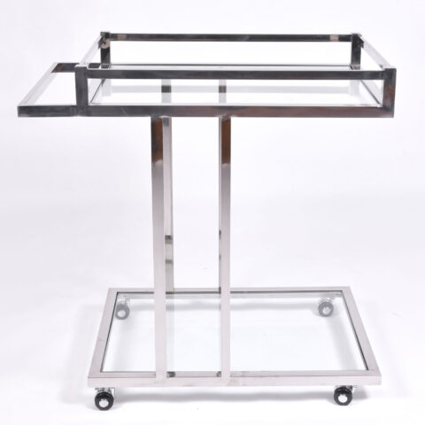 Us 1970S Chrome Drinks Trolley 01