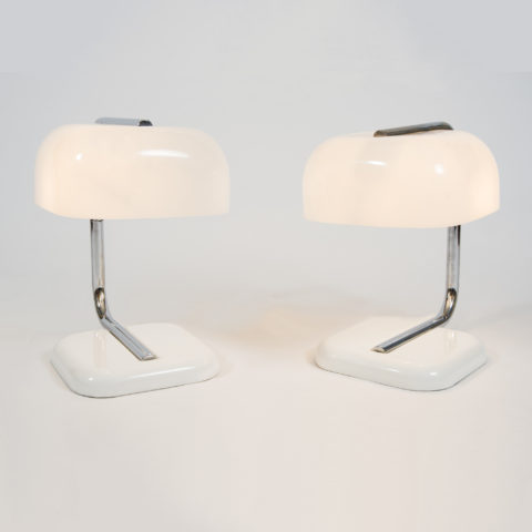 Valerie Wade 1950S Chrome White Lamps –01