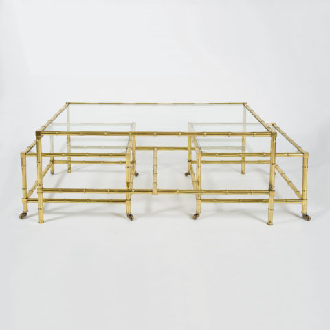 Valerie Wade Faux Bamboo Coffee Table –1
