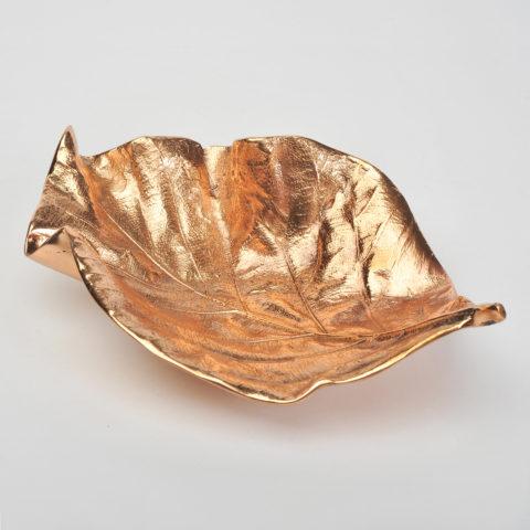 Valerie Wade Cast Bronze Leaf Large 02