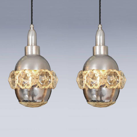 Valerie Wade Two Small Jewel Chandeliers 05 L