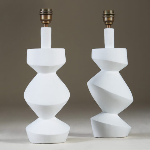 White Savoy Table Lamp 121 V1