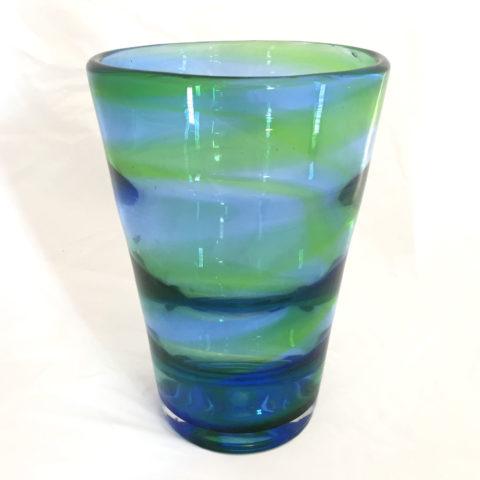 Whitefriars Blue Green Vase 02