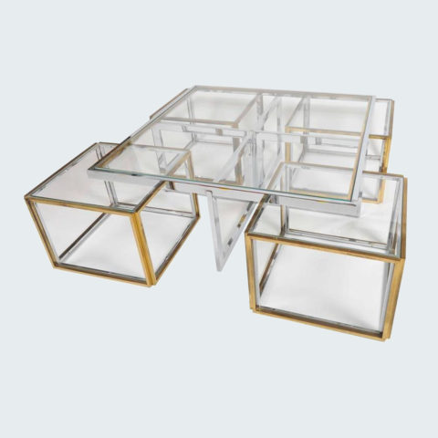Willy Rizzo Coffee Table V Org L
