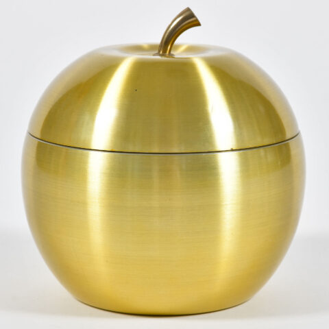 Apple Brass Ice Bucket 01