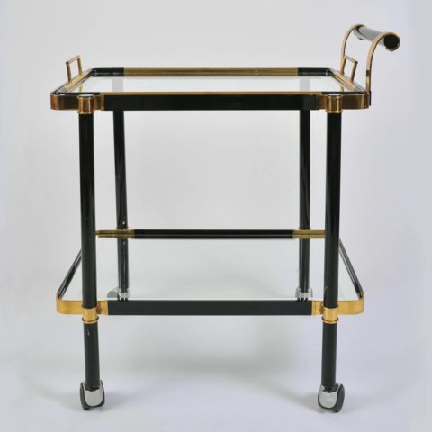 Black Drinks Trolley Main