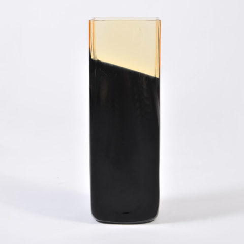 Black Glass Vase 01