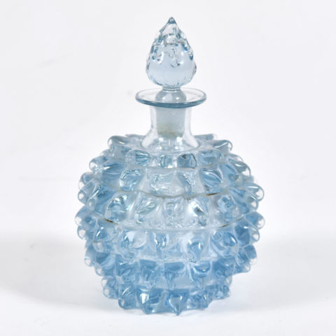 Blue Murano Scent Bottle 01