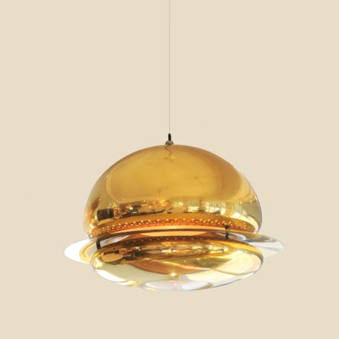 Brass Ceiling Light Main