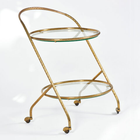 Circular Drinks Trolley 01