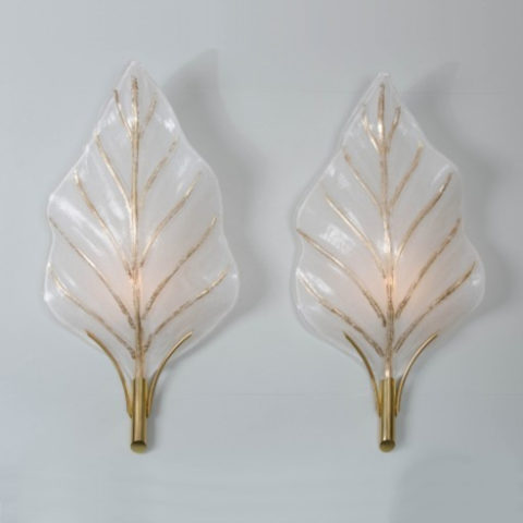 Contemporary Leaf Lights Maini