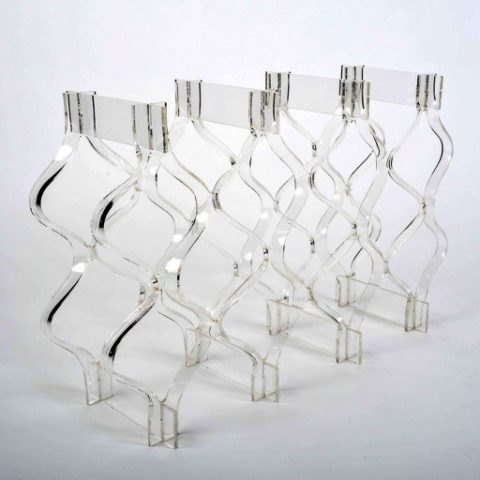 Lucite Bottle Rack I