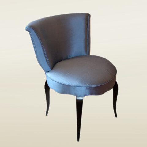 Valerie Wade Fs026 Blue High Backed Upholstered Seat 01