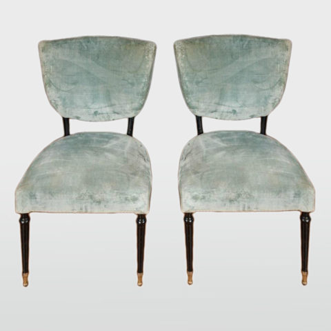 Valerie Wade Fs543 Pair 1950S Side Chairs Paolo Buffa 01