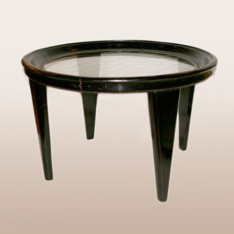 Valerie Wade Ft043 1950S Italian Black Lacquered Low Table 01