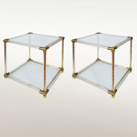 Valerie Wade Ft408 Pair Barley Twist Side Tables 01