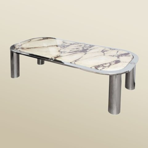 Valerie Wade Ft423 1970S French Marble Topped Low Table Knoll 01