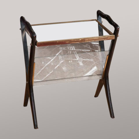 Valerie Wade Ft547 Side Table Magazine Rack Ico Parisi 01