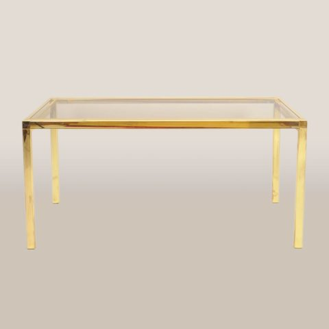 Valerie Wade Ft585 1970S American Brass Console Table 01