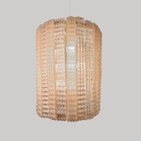 Valerie Wade Lc631 1950S Italian Pink Glass Chandelier 01